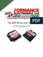 PE3 Series Manual