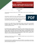 Pravilnik o Posebnim Merama i Normativima Zastite Na Radu Pri Preradi i Obradi Koze Krzna i Otpadaka Koze