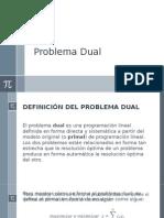 Problema Dual
