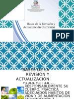 Bases de La Revisión YActualización Curricular