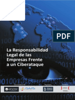 La Responsabilidad Legal de Las Empresas Fente a CYBERATAQUE