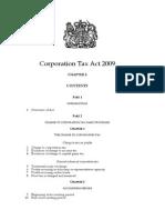 UK Corporation Tax Act 2009