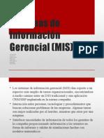 Sistemas de Información Gerencial (MIS)