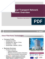 FiberHome Optical Network Overview Kntelecom Ir