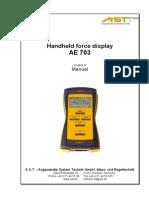 AE703 Manual