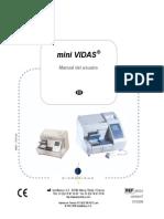 Manual de Usuario Minividas Biomerieux