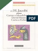 Jacobi, F.H. - Cartas a Mendelssohn. David Hume. Carta a Fichte. Circulo de Lectores 1996.pdf