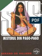 016. Gerard de Villiers - SAS - Misterul Din Pago-Pago v.1.0