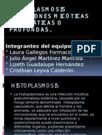 histoplasmosis y sus carateristicas