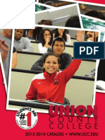 Union County College 2013 2014 Catalog