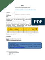 Modelos de Carta de Sustentación