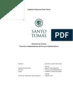 Informe Práctica Area Administracion