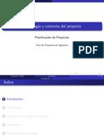 El Proyecto y La Empresa