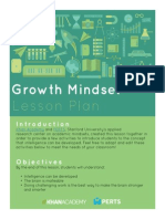 FINAL Growth Mindset Lesson Plan