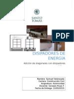 Trabajo Asismicidad (Disipadores de Energía)