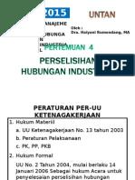 HI-1. Perselisihan Hubungan Industrial