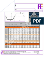 Ale Piling Data Sheet 1 U Section Steel Sheet Piles