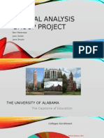 critical analysis group project