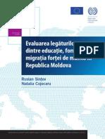 Evaluarea Legaturilor Dintre Migratie Si Educatie