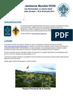 1er Jamboree Mundial WOIS - Delegación Uruguay