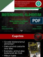 Bioterorismul Alimentar