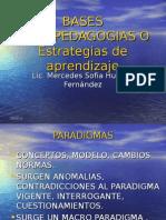 Bases Psicopedagogicas o Estr. de AP.