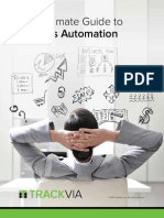 TrackVia the Ultimate Guide to Process Automation
