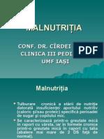 Malnutritia