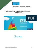 2015 Sociales y Humanidades