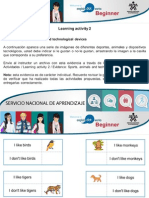 Actividad - Sports, Animals and Technological Devices Solution