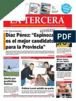 Diario La Tercera 29.05.2015