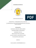La Subsidiaridad