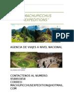Machupicchus Expeditions