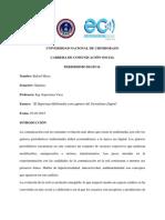 Ensayo Reportaje Multimedia
