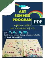 ART Poster - Summer 2015 Cresskill