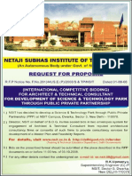 NSIT,DELHI REQUEST FOR PROPOSAL
