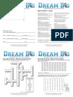 Big Ol Dream Booklet