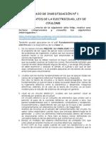 FUNDAMENTOS DE LA ELECTRICIDAD, LEY DE COULOMB