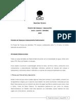 2005 Relatório Técnico Ser Criança Araçuaí - MG (AGO-OUT-05)