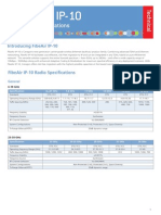 Ceragon -FibeAir IP-10 Technical Specifications - Data Sheet