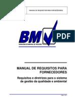 Manual Fornecedor