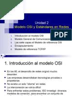 U2 - Modelo OSI y Estandares de Redes UPLOAD