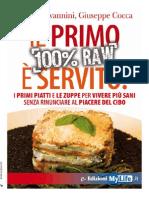 Il Primo è Servito (100% Raw) - Lucia Giovannini, Giuseppe Cocca