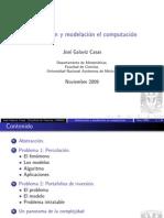 Abstraccion y modelación en computación