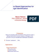 Proteomics Based Approaches for Target Identification 29-Jan-2015