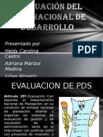 Evaluacion Del Pds