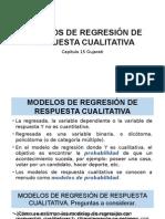 Modelos de Regresión de Respuesta Cualitativa