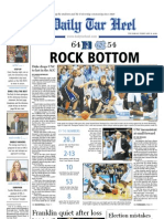 The Daily Tar Heel for Feb. 11, 2010