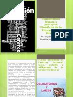 Fundamentos Legales y Principios Filosóficos de La Educación en México