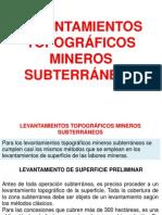 Levantamientos Topograficos Mineros Subterraneos